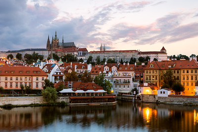 Sunrise, Prague from Charles Bridge, Czechia