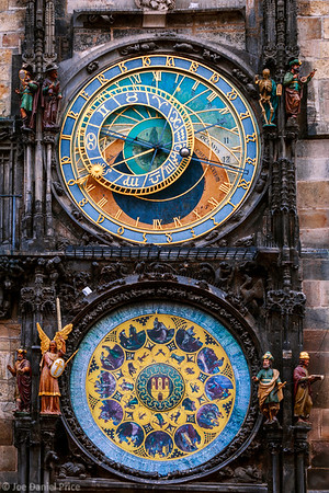 Vertical, Astronomical clock, Prague, Czechia