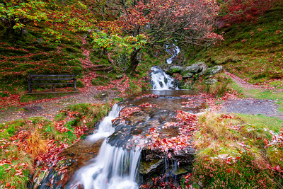 Streams and Waterfalls, Rhayader, Elan Valley, Wales