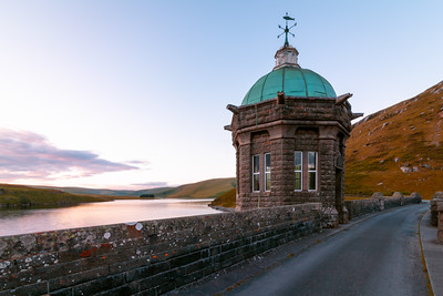 Over the Craig Goch Dam, Rhayader, Elan Valley, Wales
