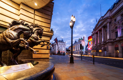 Horses of Helios, Piccadilly Circus, London, England