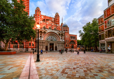 The Exterior of Westminster Cathedral, London, England