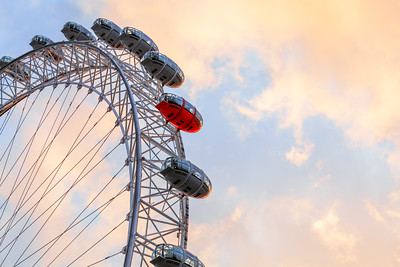 Red Pod, London Eye, London, England