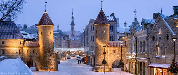 Viru Gate, Tallinn, Estonia