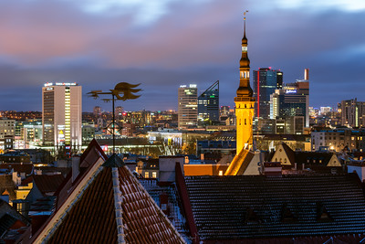 Skyline, Tallinn, Estonia