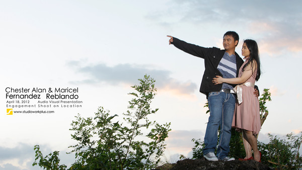 Chester Alan and Maricel  Engagement Shoot AVP Shoot on Location: Legazpi City
