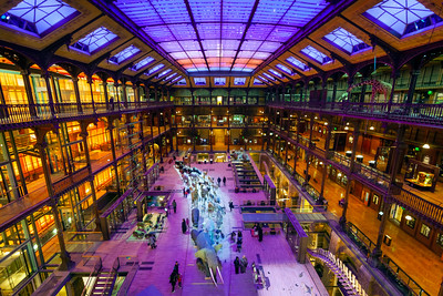 Architecture of the Grande Galerie de l'Evolution, Natural History Museum, Paris, France