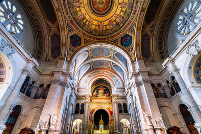 Church of St Francois Xavier, near Dome des Invalides, Paris, France