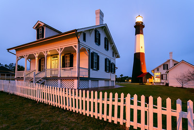 Lighthouse, Tybee Island, Savannah, Georgia, America