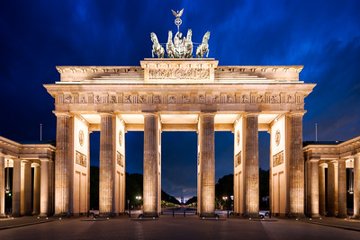 Brandenburg Gate, Brandenburger Tor, Berlin, Germany