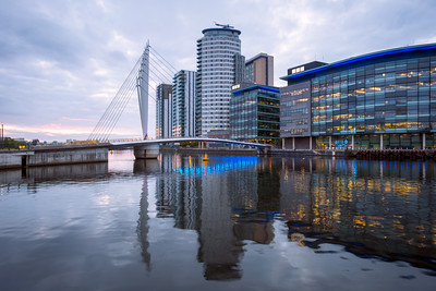 Media City, Salford Quays, Manchester, England