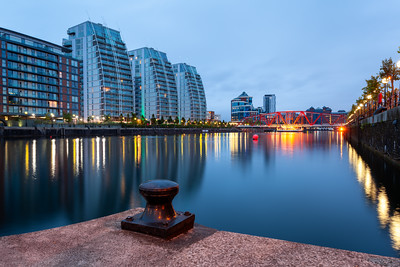 The NV Buildings, Salford Quays, Manchester, England