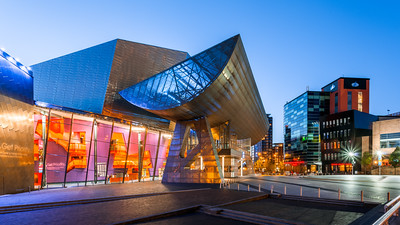 Lowry Centre, Lowry Theatre, Salford Quays, Manchester, England