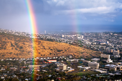 Rainbow, Honolulu, Oahu, Hawaii, America