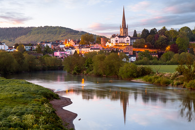Sunrise, Ross on Wye, River Wye, Herefordshire, England