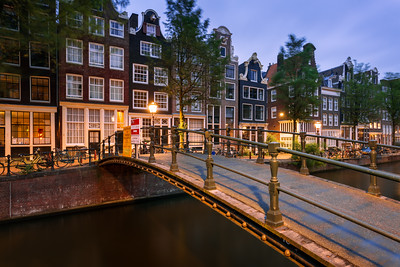 Footbridge, Amsterdam, Holland