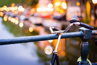 Bike and Cobweb, Amsterdam, Holland