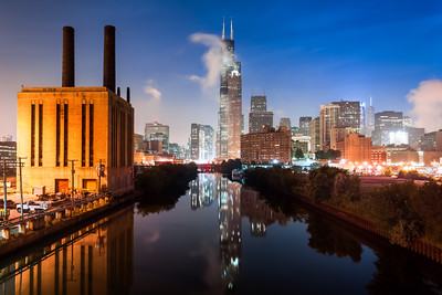 Willis Tower, Factory, Chicago, Illinois, America
