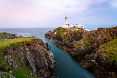 Sunset, Fanad Head Lighthouse, Fanad Head, Letterkenny, County Donegal, Ireland