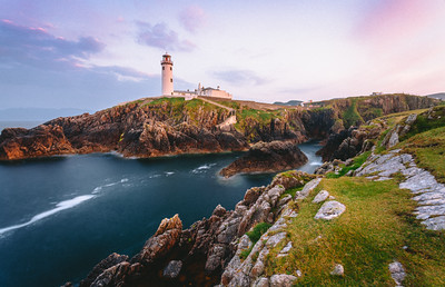 Fanad Head Lighthouse, Sunset, Ireland
