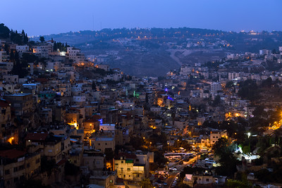 Early Morning, Ma'ale ha-Zeitim, Jerusalem, Israel