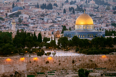 Temple Mount, Dome of the Rock, Jerusalem, Israel