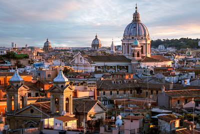 Basilica of SS Ambrose and Charles on the Corso, Rome, Italy