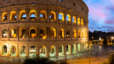 Pano, Colosseum, Rome, Italy