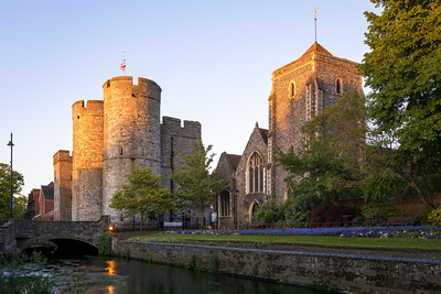 Westgate Towers, Guildhall, Canterbury, England