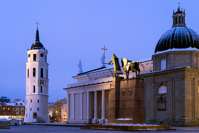 Vilnius Cathedral, Bell Tower, Vilnius, Lithuania
