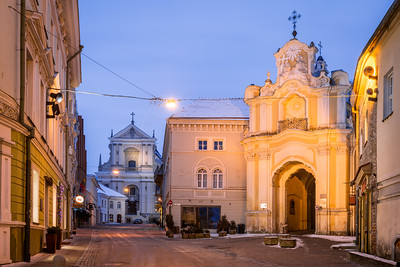 Holy Trinity Church & Basilian Gate, Vilnius, Lithuania