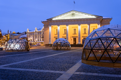 Town Hall, Town Hall Square, Vilnius, Lithuania