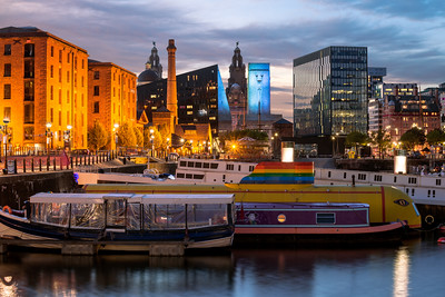 Skyline, Albert Dock, Liverpool, England