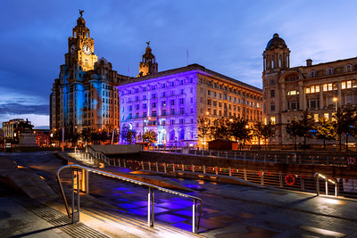 Royal Liver Building, Albert Dock, Liverpool, England