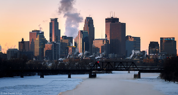 Sunrise, Minneapolis, Minnesota, America
