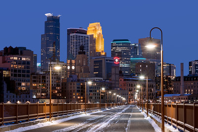 Stone Arch Bridge, Footbridge, Minneapolis, Minnesota, America