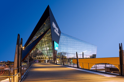 U.S. Bank Stadium, Football Stadium, Minneapolis, Minnesota, America