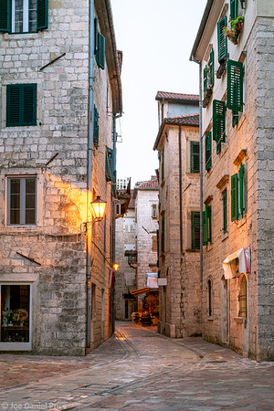 City Streets, Old Town, Kotor, Montenegro