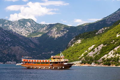Boat, Bay of Kotor, Montenegro