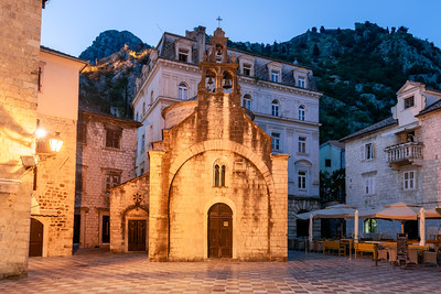 Church of St Luke, Old Town, Kotor, Montenegro