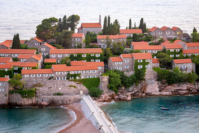 Close Up, Sveti Stefan, Budva, Montenegro