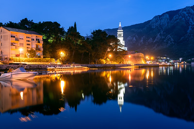 St. Matthew's Church, Dobrota, Bay of Kotor, Montenegro