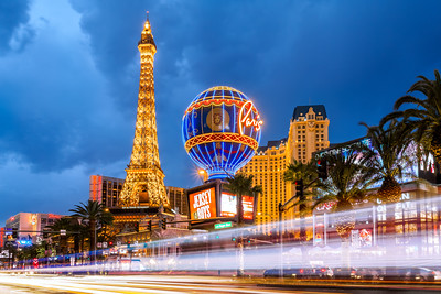Eiffel Tower, The Strip, Paris, Las Vegas, Nevada, America