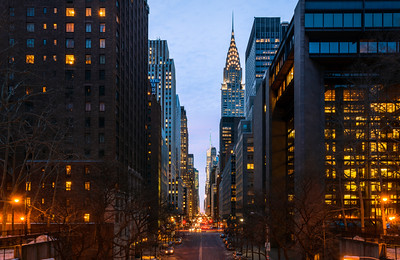 Chrysler Building, East 42nd Street, Midtown, Manhattan, New York City, New York, America