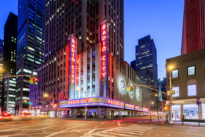 Radio City, Midtown Manhattan, New York City, New York, America
