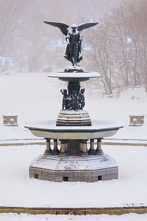 Bethesda Fountain, Central Park, New York City, New York, America