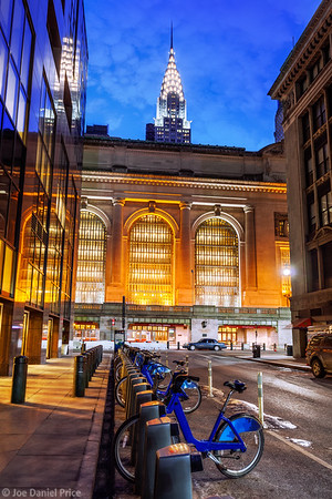 Chrysler Building and Grand Central Terminal, New York City, New York, America