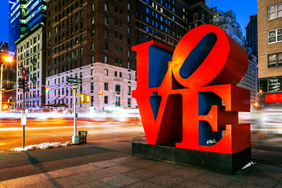 Love, New York City, New York, America