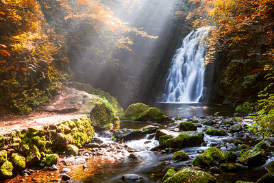 Glenoe Waterfall, County Antrim, Northern Ireland