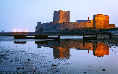 Carrickfergus Castle, County Antrim, Northern Ireland